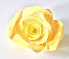 Paper Roses Printable