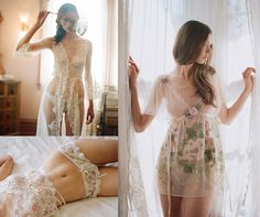 Bridal lingerie from Claire Pettibone