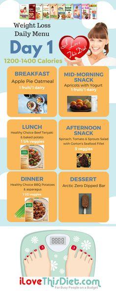 sample vegetarian menu for i love this diet