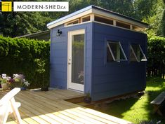 8'x12' Teenage Hideaway - - sheds - vancouver - by Westcoast Outbuildings Inc.