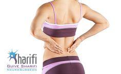 #درد #دیسک_کمر به چه صورت است؟  http://gsharifi.com/lumbar-herniated-disc-pain  #کمردرد #ستون_فقرات #جراحی #پزشکی #سلامت