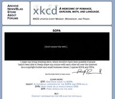 Great screen grabs. Stop SOPA