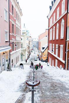 Go Bold With Red- Nordic Country Interiors Dubrovnik, Utrecht, Dublin, Kingdom Of Sweden, Sweden Travel, Stockholm Sweden, Most Beautiful Cities, Scandinavian Home, Beach Trip