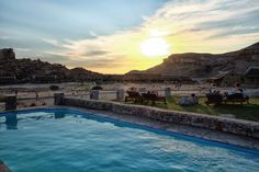 Gondwana Fish River Canyon Village Pool Image: The World Pursuit Pool Images, Canyon Park, Desert Tour, Sunset Images, Pool Days, Self Driving, Bouldering, Places To See, Travel Destinations
