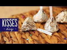 Kisses caseros - trufas de chocolate [receta] - YouTube