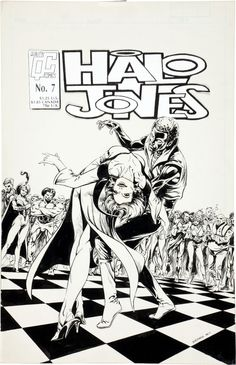 the cover to Halo Jones #7 by Bart Sears