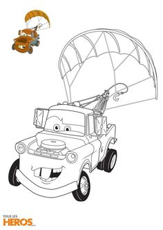 Cars 2 Jeff Corvette Coloring Page (With images