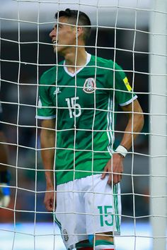 44b0f4e97 Hector Moreno of Mexico reacts during a match between Mexico and Honduras  as part of FIFA 2018 World Cup Qualifiers at Azteca Stadium on September