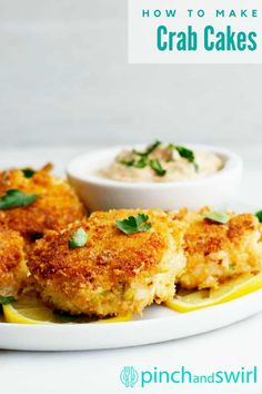 In this Easy Crab Cake recipe, I'll show you exactly how easy it is to make delicious lump crab cakes! They're made with just a few simple ingredients - the absolute best crab cakes because they're made with lump crab and actually TASTE like crab, not breading. I love to fry them in a mixture of oil and butter because butter and crab are made for each other! Easy Summer Meals, Healthy Summer Recipes, Easy Dinner Recipes, Seafood Casserole Recipes, Seafood Recipes, Cooking Recipes, Seafood Curry Recipe, Curry Recipes, Seafood Appetizers