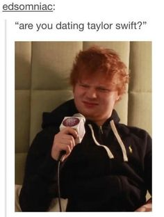 ed's reaction. priceless. don't worry ed. this is the worlds reaction too.