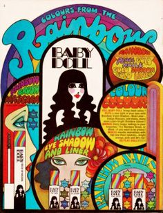 Baby Doll cosmetics ad: image scanned by Sweet Jane from Rave Magazine, April 1968