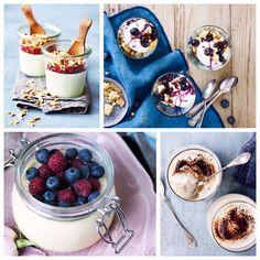 Når du skal servere en smuk dessert, hvorfor så ikke servere den i et glas? Desserter i glas pynter på ethvert middagsbord, især hvis desserten er i lag, så man rigtig kan se de forskellige dele.