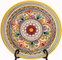 Luncheon Plate. Sevilla, another beautiful design for summer-inspired tapas! #OKLsummer