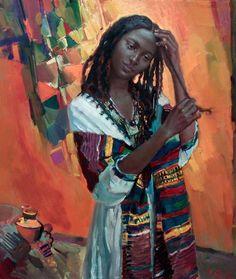 Impressioni Artistiche : ~ Tesfay Atchbekha Negga ~