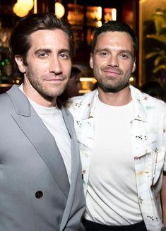 Sebastian Stan, Nights On Broadway, Avengers Cast, Best Duos, Man Thing Marvel, Marvel Actors, Marvel Movies, Jake Gyllenhaal, Bucky Barnes