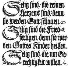 klingspor gotisch