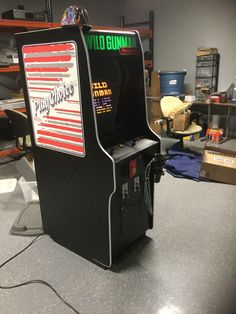 borne arcade wild gunman