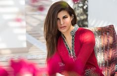 Jacqueline Fernandez looked  stunning as she was photographed in Pakistani designer Zainab Chottani's Spring Summer 2016 Lawn collection