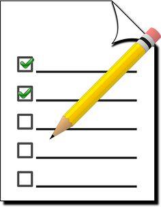 Die besten Tipps für den bevorstehenden Einzug in einer Checkliste zusammengefasst, so vergisst du garantiert nichts.