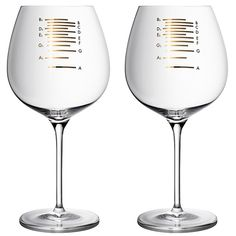 Musical Wine Glasses from Uncommon Goods
