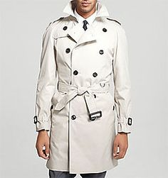 Twill trench coat ($995) by Burberry, bloomingdales.com