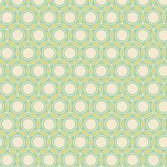 Joel Dewberry Heirloom JD52 Opal Jade by the yard by anthemfabrics, $8.70