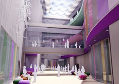 hospital atrium - Google Search