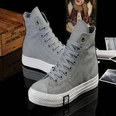 dc139f647e5f 2013 New Converse Chuck Taylor All Star High Edison Dwyane Wade gray casual  shoes