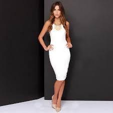 Image result for vestidos elegantes por la rodilla
