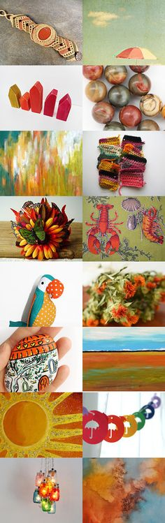 the color of summer by 3buu on Etsy--Pinned with TreasuryPin.com
