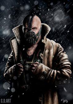 #Bane #Fan #Art. (Bane) By: SamDenmarkArt. ÅWESOMENESS!!!™