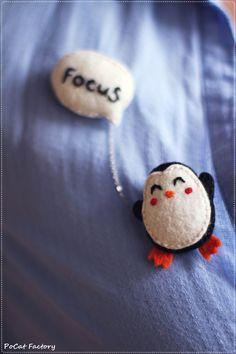 Items similar to Felt Pocket Boston terrier dog brooch keychain magnet on Etsy Happy Penguin, Boston Terrier Dog, Felt Art, Felt Crafts, Plushies, Wool Felt, Penguins, Creations, Etsy