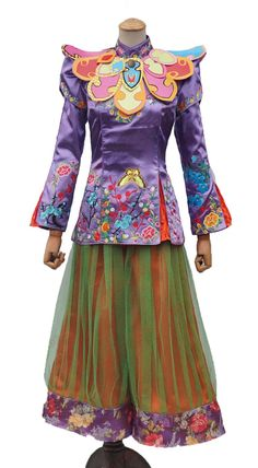 Wuhang Womens' Chinese style Outfit Classical Suit Halloween Cosplay Costume (XXL) -- Awesome products selected by Anna Churchill