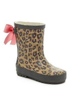 $21 Animal Print Wellington Boots