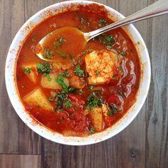 Hungarian Paprika Fisherman's Stew (Halászlé) | NutrientsYouFools.com