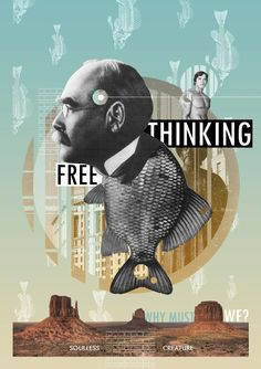 Collage by Soulless Creature Collage Illustration, Graphic Design Illustration, Illustrations Posters, Mises En Page Design Graphique, Art Graphique, Collage Poster, Collage Art, Collages, Photomontage
