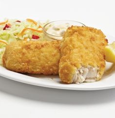 BREADED HADDOCK FILLETS - Our fillets have been breaded, par-fried and flash-frozen. Oven ready. Try making a 'fishwich' for the family. 6-11 portions. #mmmeatshops
