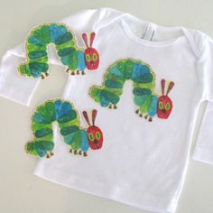 Cute outfit idea for the birthday child (for a The Very Hungry Caterpillar themed birthday party)