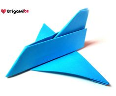 Learn how to make a paper origami airplane toy video tutorial.This origami airplane can't fly but looks really cool and also it is very easy to make.D...