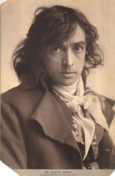 """Sir John Martin-Harvey, (as Sydney Carton in """"The Only Way""""). Romantic actor of  the English Theatre.1863-1944"""