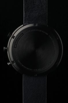 Men's chronograph watch in PVD black Black Love, Black Is Beautiful, Back To Black, Black Splash, Color Splash, Dark Images, Happy Colors, Shades Of Black, Black Magic