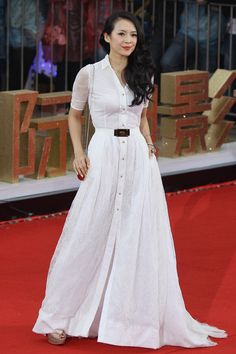 Zhang Ziyi in Alessandra Rich #HauteCouture #RedCarpet phototag