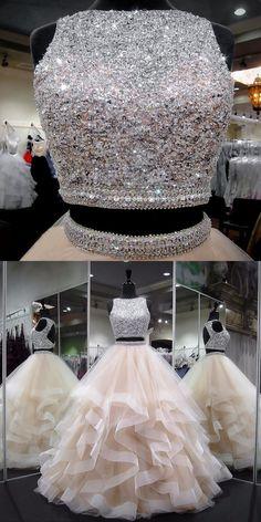Prom Girl Dresses, Pretty Prom Dresses, Prom Dresses For Teens, Ball Dresses, Puffy Dresses, Evening Dresses, Indian Wedding Gowns, Indian Gowns Dresses, Indian Fashion Dresses