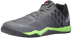 Reebok Mens Ros Workout TR Training AlloyCoalSolar GreenBlackWhite 95 M US * For more information, visit image affiliate link Amazon.com