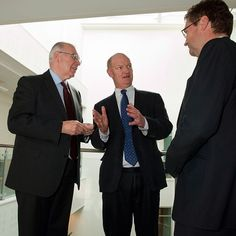 Vice-Chancellor Sir Alan Langlands and Deputy Vice-Chancellor Professor John Fisher CBE met Universities Minister David Willetts and key business leaders on campus earlier to discuss innovative medical partnerships.
