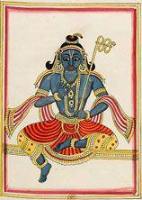 BnF - Miniatures et peintures indiennes  Vishnu