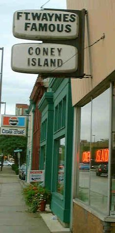 Fort Wayne's Famous Coney Island-This little place serves THE best coney dogs! SERIOUSLY