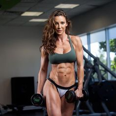 Only Ripped Girls: Photo - Fit Girls Images Gym Body, Body Fitness, Physical Fitness, Hot Girls, Girls With Abs, Fit Girls Images, Ripped Body, Chico Fitness, Ripped Girls