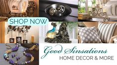 Are you looking for amazing Christmas gifts, birthday gifts, just because gifts or home decor at affordable prices? If so, then Good Sinsations might have just what you're looking for. We have something for everyone. Come see for yourself. Http://goodsinsations.com