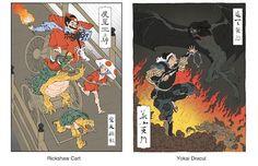 Ukiyoe Heroes - made by Mokuhankan